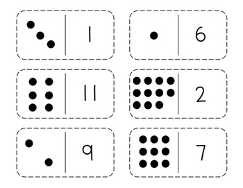 Number Sense Dominos
