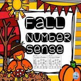 Number Sense ( Fall Theme Numbers 1-10)