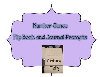 Number Sense Flip Book and Journal Prompts