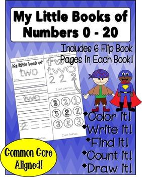 Number Sense Flip Books 0 - 20