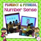 Number Sense Fluency & Fitness Brain Breaks Bundle