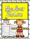 Numbers 31 to 40 Fluency