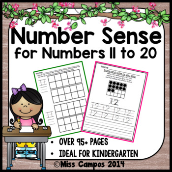 Numbers 11 to 20 Fluency