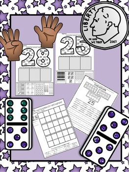 Numbers 21 to 30 Fluency