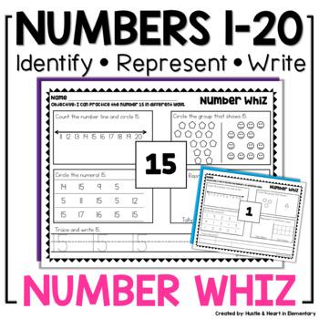 Number Whiz Number Sense Foundations 1-20