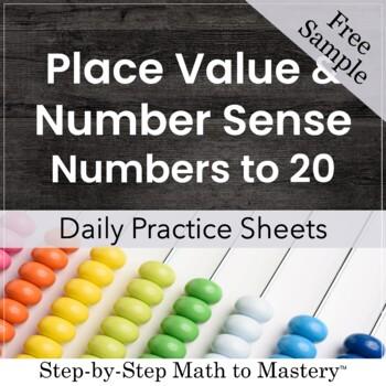 Number Sense Freebie  (Numbers to 20)