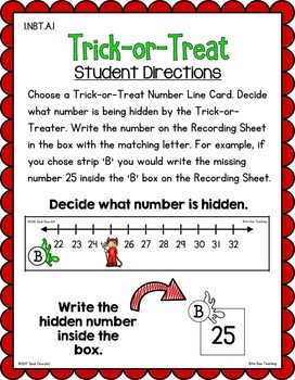 Halloween Number Sense Freebie: Trick-or-Treat Center