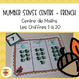 Number Sense - French - Math Centre - Autumn