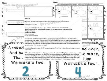 Number Sense Fun 1-10 Unit Printables Common Core Aligned