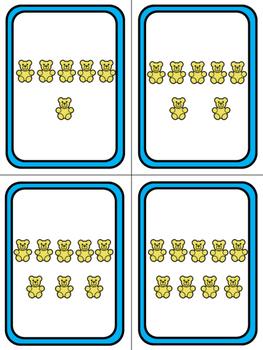 Number Sense Game Cards