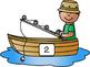Number Sense Game- Fishing Theme
