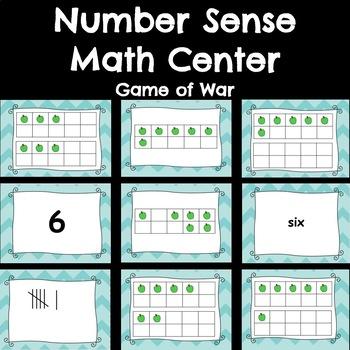 Number Sense Game of War