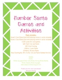 Number Sense Games & Activities: 120, Skip Counting, Order