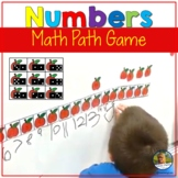 Number Sense Games Math Facts Back to School Apple Theme