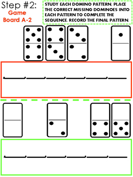 Number Sense Games With Patterning and Sequencing