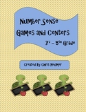 Number Sense Games and Centers 3rd Grade - 5th Grade NBT