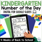 Number Sense Google Slides™ Back to School Math Kindergart