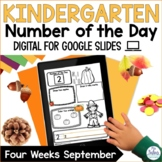 Digital Number Sense  Google Slides™ Kindergarten Number o