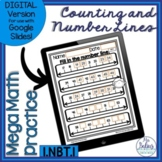 Counting Patterns Number Lines Activities | First Grade Math Worksheets 1.NBT1