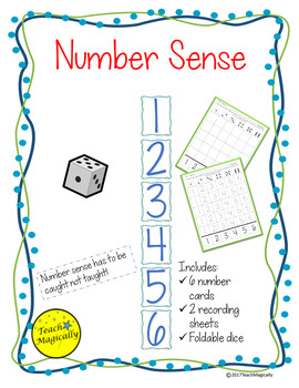 Number Sense Graph Number Writing Practice