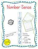 Number Sense Graph Number Writing Practice Game