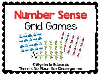 Number Sense Grid Games