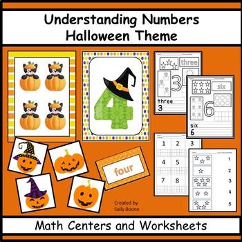 Number Sense Halloween Theme