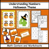 Numbers - Counting, Matching, Number Words - Halloween Theme