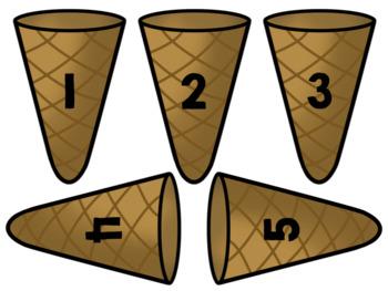 Number Sense Ice Cream Cones