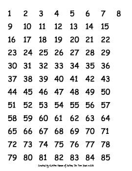 Number Sense Instructional Materials (FREEBIE)