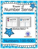 Building Number Sense Math Games Numbers from 100-500