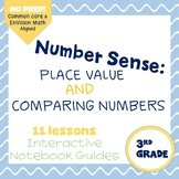 Number Sense (enVision Topic 1) Interactive Notebook