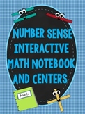 Number Sense Interactive Notebook & Centers