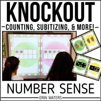 Number Sense KNOCKOUT {Counting & Subitizing}