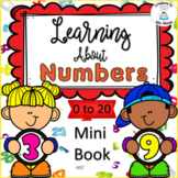 Number Sense - Learning About Numbers 0 - 20