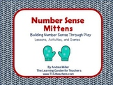 Number Sense Lessons, Games and Activities~Mittens