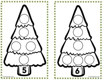 Number Sense Lessons, Games, and  Activities~Trees