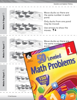 Number Sense Leveled Problem: Counting to Make It Equal (eLesson)