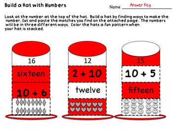 Number Sense - Making a Number Different Ways