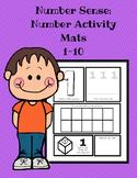 Number Sense: Manipulative Activity Mats