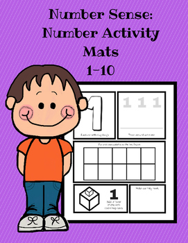 Number Sense: Manipulative Activity Mats