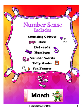 Number Sense: March