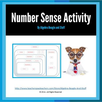 Number Sense Matching Activity