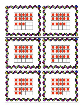 Number Sense Matching Cards