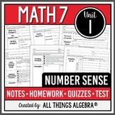 Number Sense (Math 7 Curriculum – Unit 1) DISTANCE LEARNING