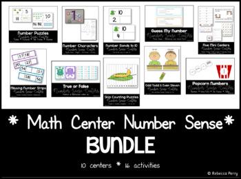 Number Sense - Math Center Bundle