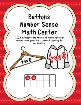 Number Sense Math Centers Bundle