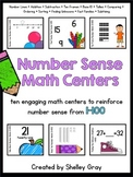 Number Sense Math Centers {for numbers 1-100}