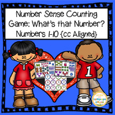 Number Sense Counting Game for Numbers 1-10 for Pre-K or K