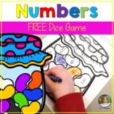 Number Sense Math Game Jellybean Theme